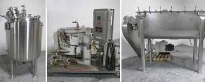 Used chemical processing equipment